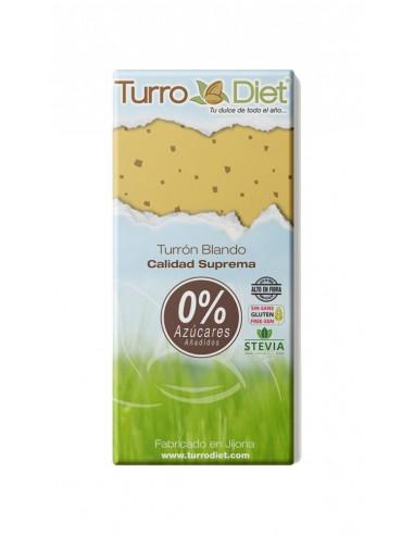 Turrón blando con Stevia Sin Gluten -...