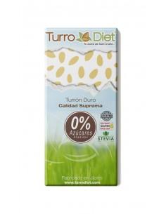 Turrón duro con Stevia Sin Gluten - Turrodiet