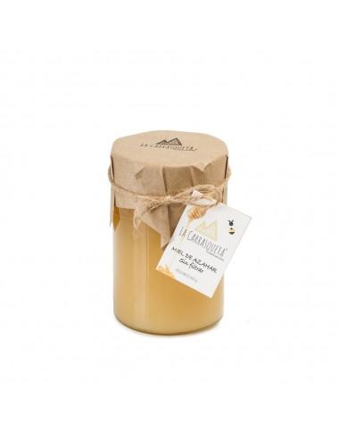 Cream Orange Blossom Honey (unfiltered)