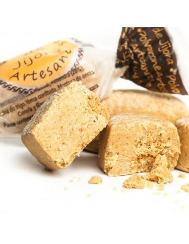 Artisan almond polvorones from Spain