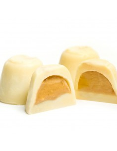 White Chocolate Bonbons stuffed with Artisan Nougat