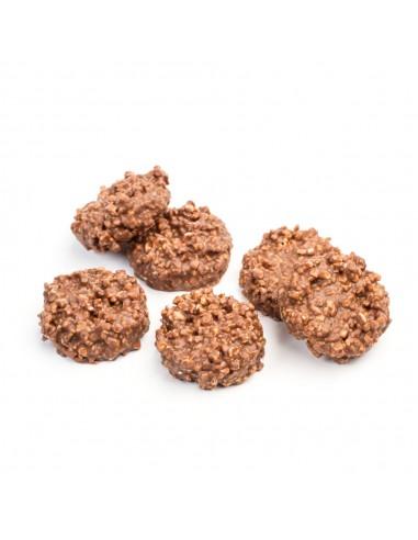 Rocas de chocolate con leche