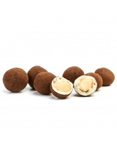 Cocoa Coated Chocolate Macadamias
