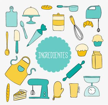 Ingredientes tarta de queso y turrón