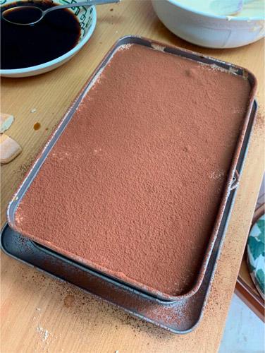 tarta tiramisu turron en molde
