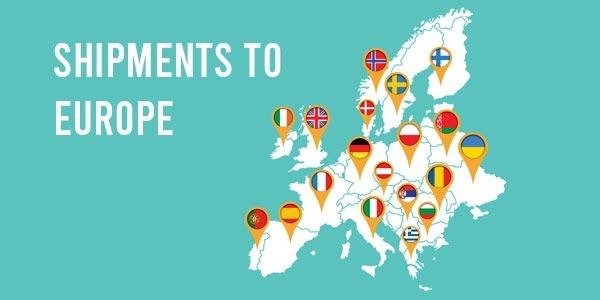 ¿Cómo enviar turrón a Europa barato?