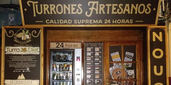 ¡Abrimos la primera tienda de Turrón Artesano 24h  en Jijona!
